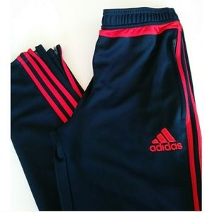 Adidas Climacool joggers blue and red size 15/16